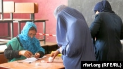 Afghanistan – Afghans during voting in Balkh Province on, 14 June 2014