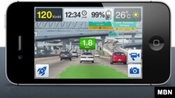 تطبيق iOnRoad Augmented Driving
